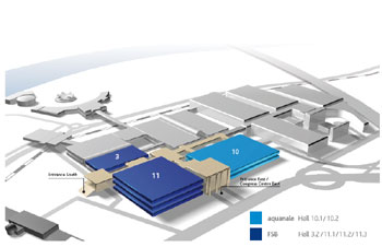 hall plan - Koelnmesse
