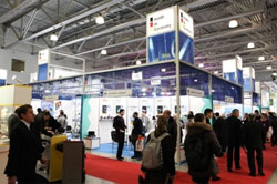 stands at Aqua-Therm Moscow 2010