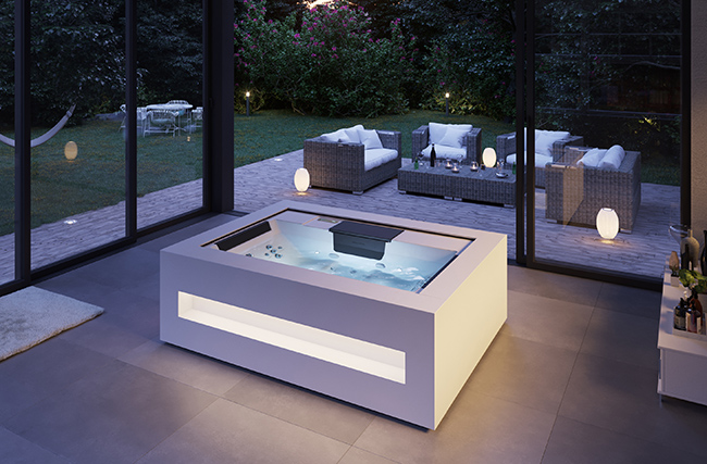 spa HOME d'aquavia spa de nuit