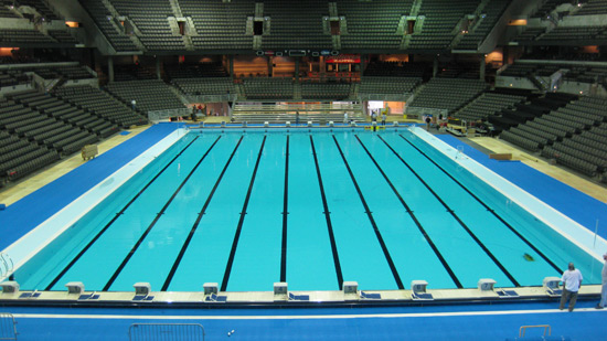 Myrtha pools ready for the olympic swimming trials omaha for Piscina jerago cele dacco