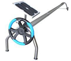 Nouveau kit de motorisation pour enrouleur de b ches for Fabriquer un enrouleur de bache a bulle