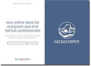 Gecko depot store website