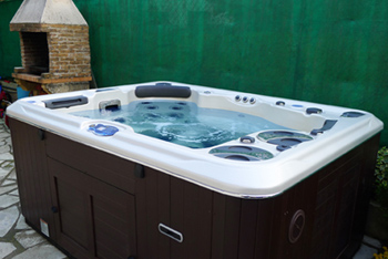 spa 395 the most comfortable new hydropool spa. Black Bedroom Furniture Sets. Home Design Ideas