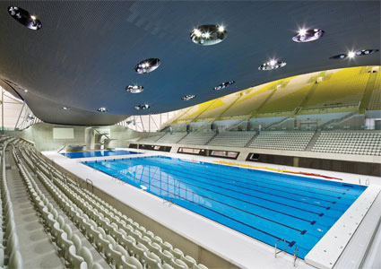Klinkersire Was Present At The London Aquatic Centre