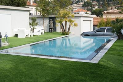 Leader pool for Plan de piscine a debordement