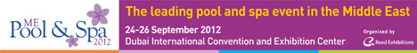 Middle east pool and spa exhibition 24-26 september