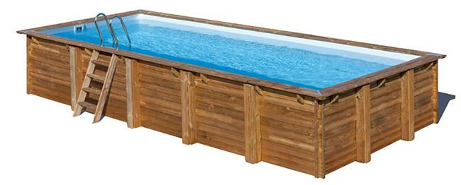 Sunbay Pools New Rectangular Wooden