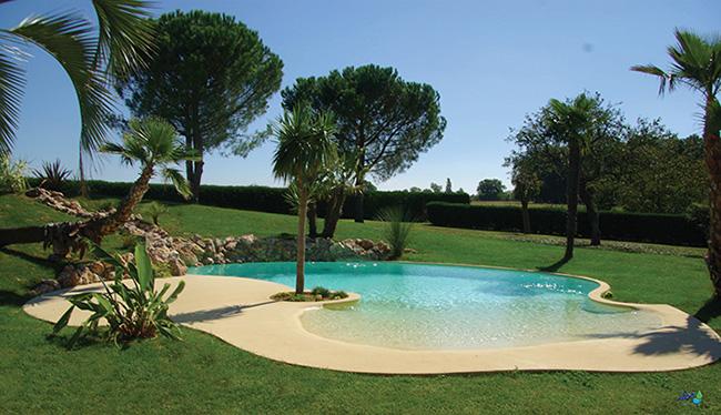 Oasix la solution naturelle de piscine solaris for Piscine effet plage