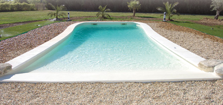New Generation Of Swimming Pools With A Gently Sloping Beach