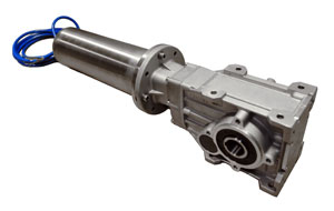 A waterproof hybrid motor for automatic pool covers for Automatic pool cover motor replacement