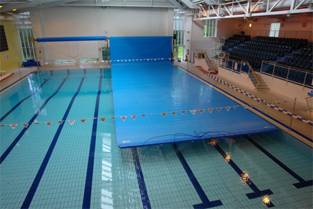 Plastica cover installed at Haslemere Leisure Centre