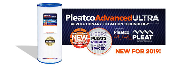 new Pleatco advanced Ultra
