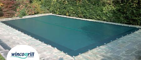 Le coperture invernali per piscina - Teli per piscine ...