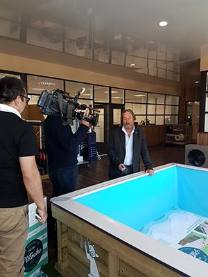 les piscines hors sol proswell de procopi dans capital sur. Black Bedroom Furniture Sets. Home Design Ideas