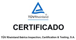 TUV rheinland certificado Renolit