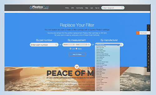 screen site pleatco