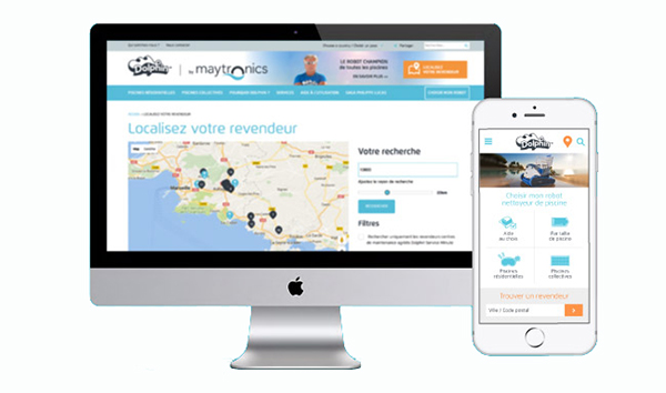 Site web Maytronics