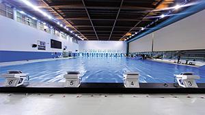 Des couvertures isothermes dans les grands centres for Chauffage piscine olympique