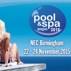 Die 4 auflage der uk pool und spa expo for Pool spa show 2015