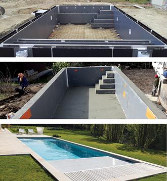 Unib o piscines des structures 100 fran aises for Structure piscine