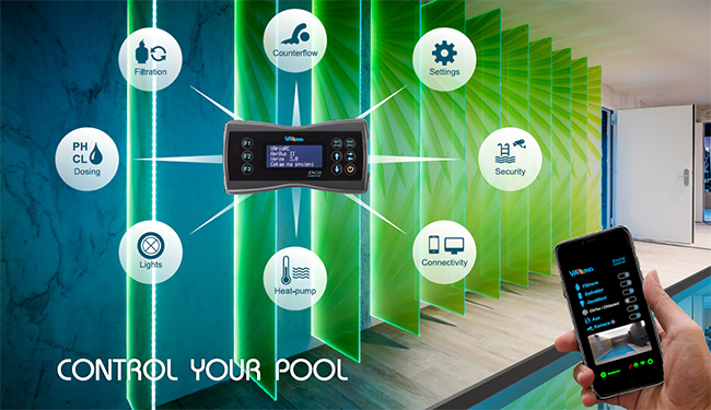 VARIO by VAGNER POOL: Intelligent pool control system
