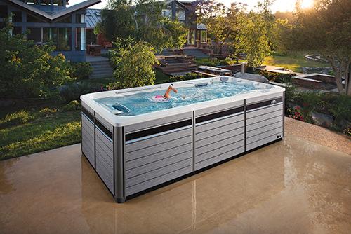 Aqua fitness and latest generation counter-current swim system ...