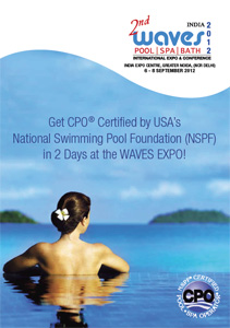 Become a certified commercial pool operator at India Waves expo